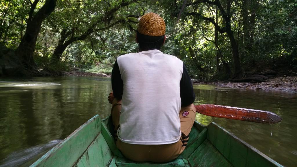 Oma' Lung Dayak exploring the Tane' Olen