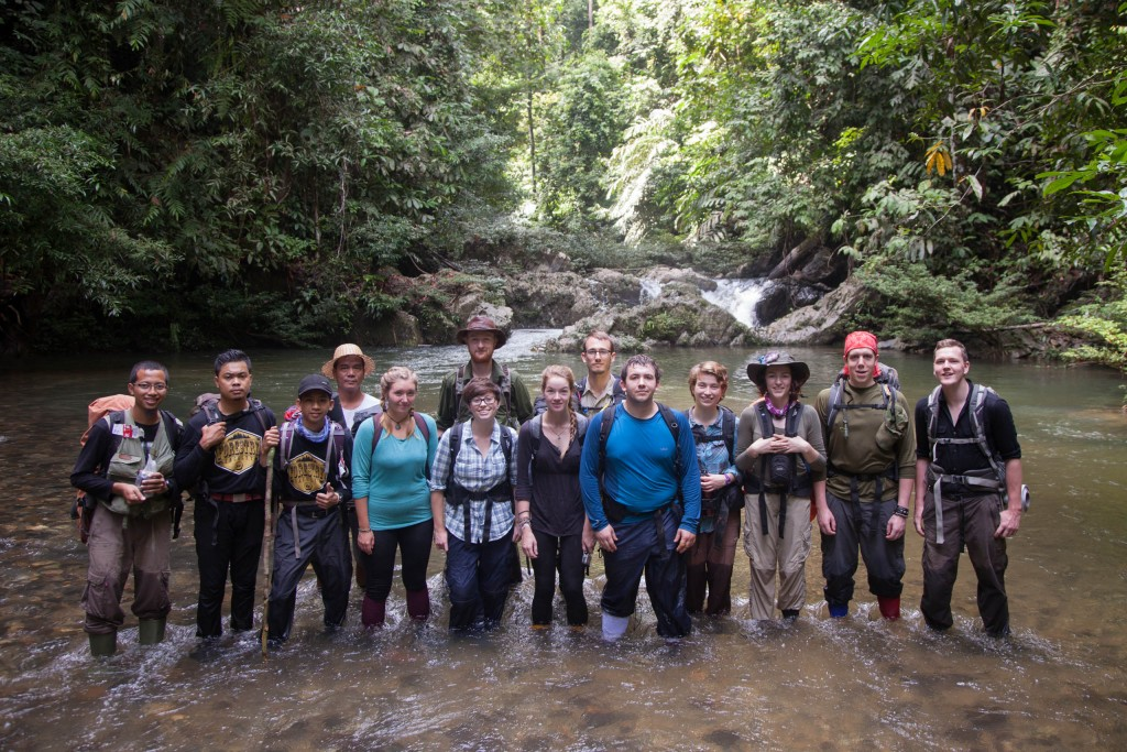 Team Photo, Borneo Field Trip, Long Setulang