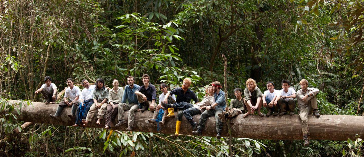 Murung Raya Expedition Team Photo